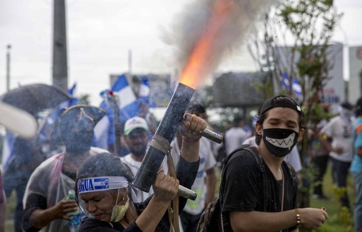 Nicaragua: le gouvernement reprend un quartier historique aux opposants - ảnh 1