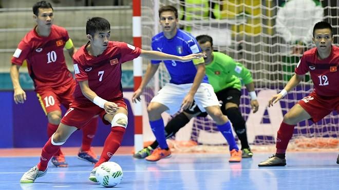 Thai Son Nam entre en demi-finale de la coupe de futsal d'Asie - ảnh 1