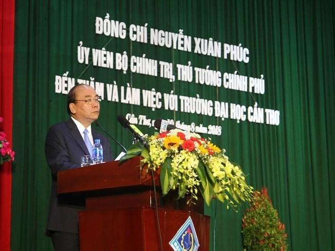 L'université de Cân Tho devrait s'engager pour former les élites - ảnh 1