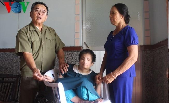 Adoucir les souffrances des victimes de l'agent orange - ảnh 1