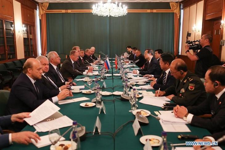 Pékin et Moscou promeuvent un ordre international «juste et équitable» - ảnh 1