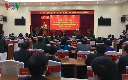 Clôture de l'atelier de formation pour les plus hauts dirigeants du Parti - ảnh 1