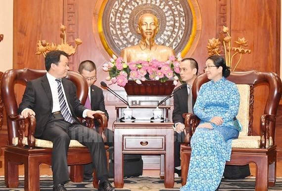 Renforcer les échanges entre les jeunesses vietnamienne et chinoise - ảnh 1