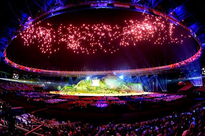 ASIAD 2018 : cérémonie d'ouverture à Jakarta - ảnh 1