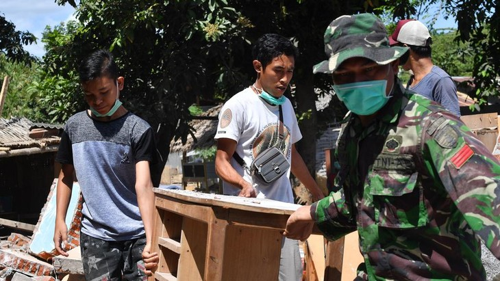Indonésie : nouveau tremblement de terre à Lombok - ảnh 1