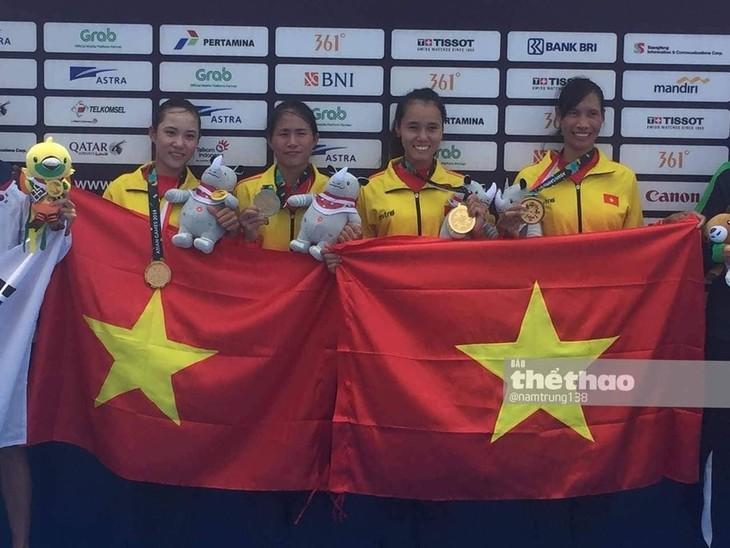 ASIAD 2018: la délégation vietnamienne au 13e rang après 4 jours de compétitions - ảnh 1