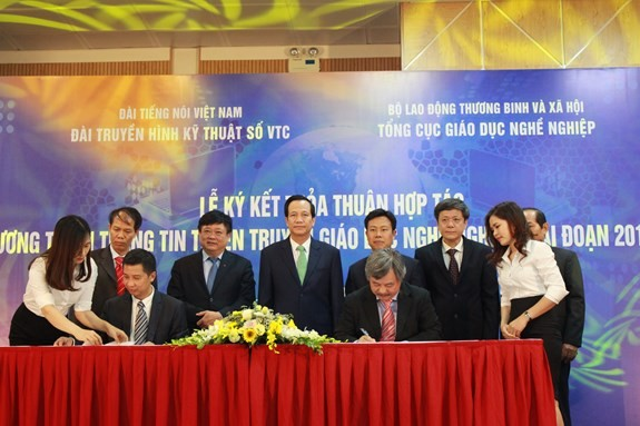Signature d'un document de coopération entre VTC et DEP - ảnh 1