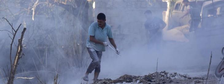 Syrie: reprise des bombardements russes, l'ONU craint un bain de sang - ảnh 1