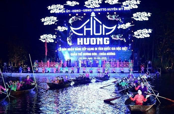 Remise du certificat de vestige national spécial à Huong Son - ảnh 2