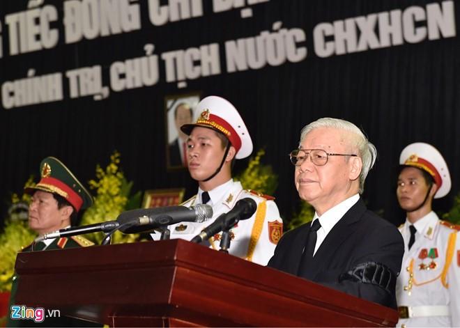 Cérémonie d'hommage au président Trân Dai Quang - ảnh 2