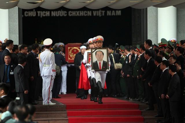 Cérémonie d'hommage au président Trân Dai Quang - ảnh 1