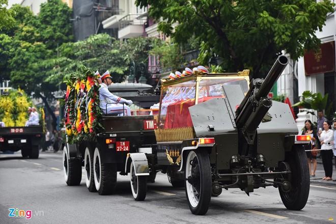 Cérémonie d'hommage au président Trân Dai Quang - ảnh 5