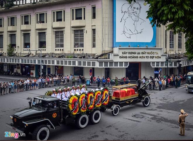 Cérémonie d'hommage au président Trân Dai Quang - ảnh 6