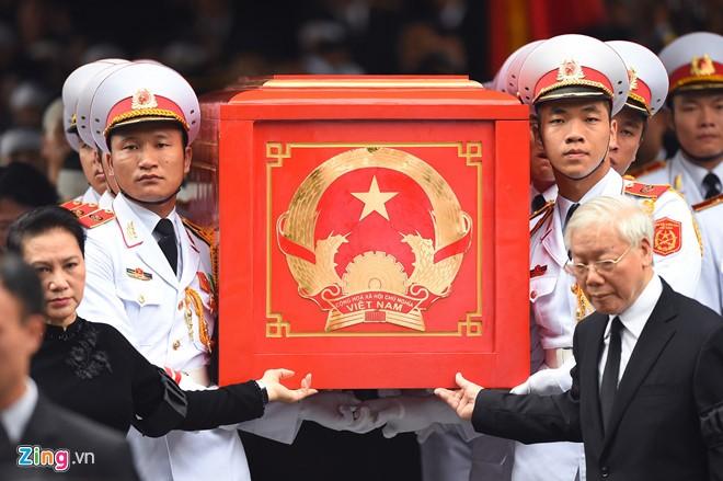 Cérémonie d'hommage au président Trân Dai Quang - ảnh 4