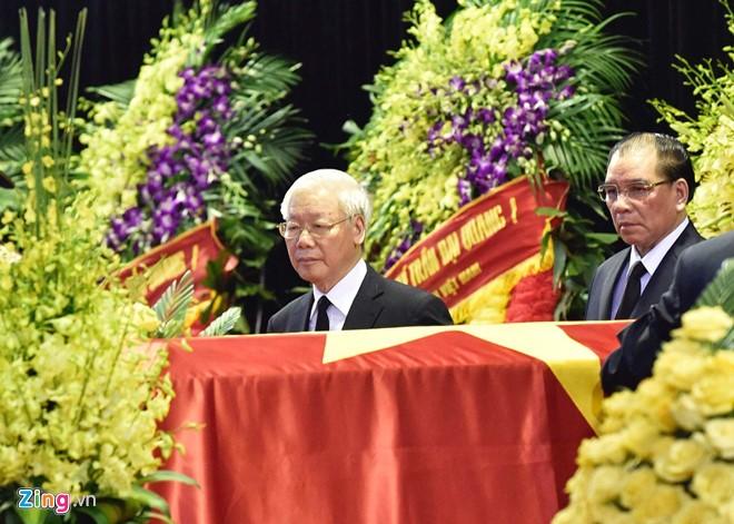 Cérémonie d'hommage au président Trân Dai Quang - ảnh 3
