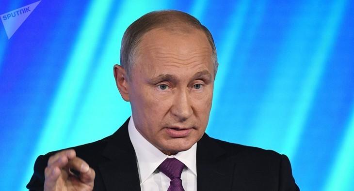 Syrie : Poutine pour le retrait à terme de toutes les troupes étrangères - ảnh 1
