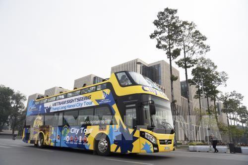 Hanoi ouvre une deuxième ligne de bus à impériale - ảnh 1