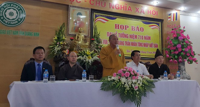 Cérémonie nationale en mémoire de l'entrée au nirvana du roi-bonze Trân Nhân Tông - ảnh 1