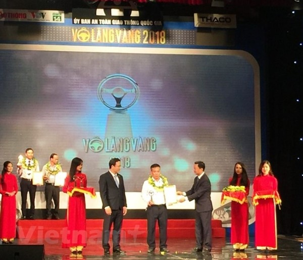 Vingt entreprises obtiennent le prix « Volant d'or » 2018 - ảnh 1