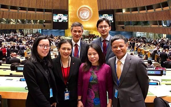 Nguyên Hông Thao, premier Vietnamien à la Commission du droit international des Nations Unies - ảnh 1
