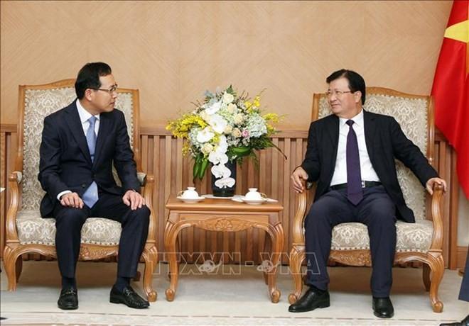Samsung accompagnera les industries auxiliaires vietnamiennes - ảnh 1