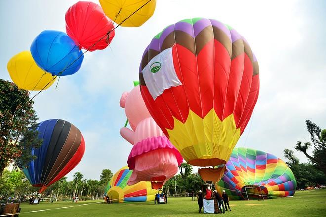 Festival international de montgolfière de Huê 2019 - ảnh 2