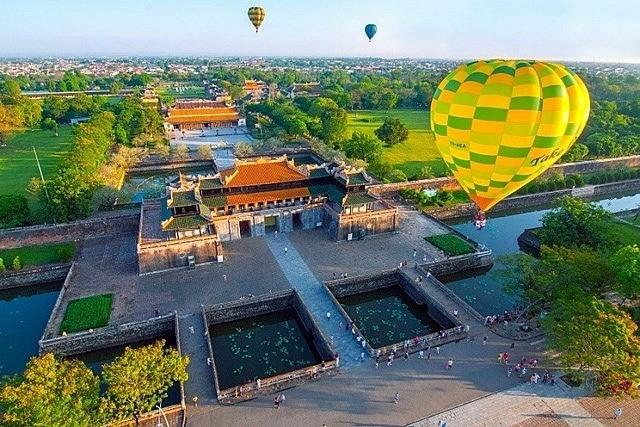 Festival international de montgolfière de Huê 2019 - ảnh 1