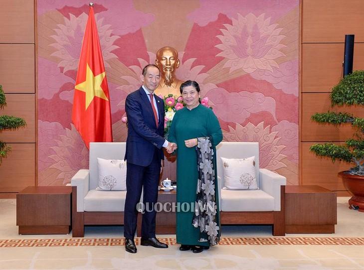 Tong Thi Phong reçoit Takeshi Kasai - ảnh 1
