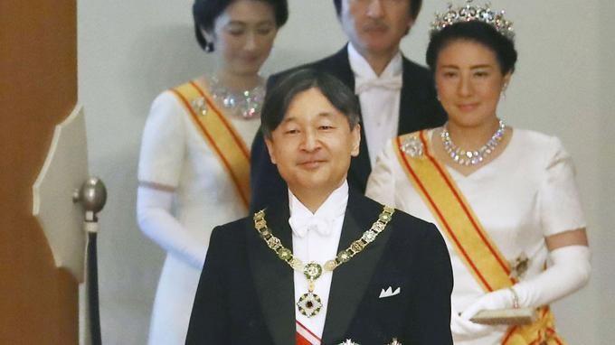 L'empereur Naruhito du Japon accède officiellement au trône - ảnh 1