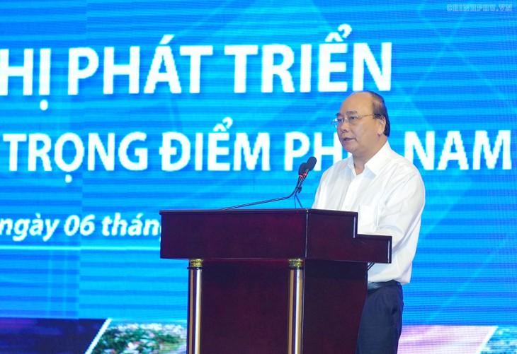 Conférence sur le développement de la zone économique de pointe du Sud - ảnh 1