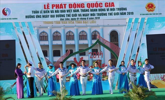 Lancement de la semaine des mers et des îles du Vietnam - ảnh 1