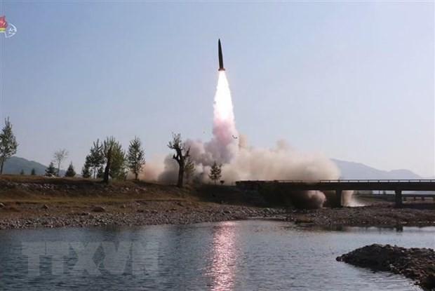 日米韓の防衛担当閣僚が会談 朝鮮非核化へ協力確認 - ảnh 1