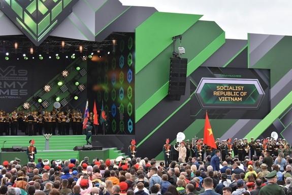 Le Vietnam prend part aux Jeux militaires internationaux 2019 en Russie - ảnh 1