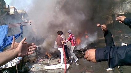 Mai ist der blutigste Monat im Irak - ảnh 1