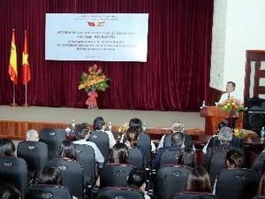 36. Jahrestag der Aufnahme diplomatischer Vietnam-Spanien-Beziehungen - ảnh 1