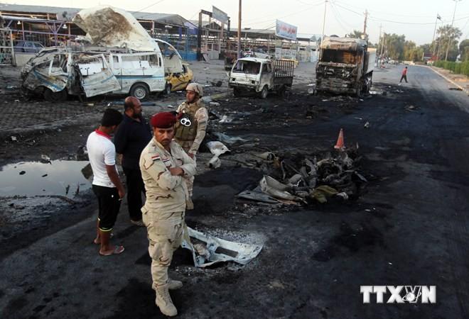 18 Tote bei Bombenanschlägen im Irak - ảnh 1