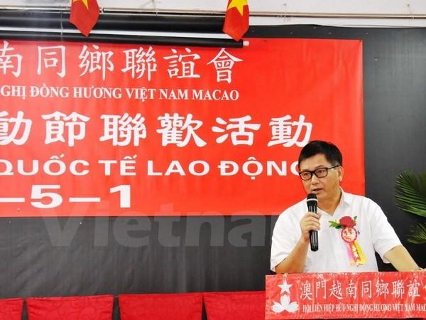 Feier zum 40. Jahrestag der Befreiung Südvietnams in Macau und Russland - ảnh 1