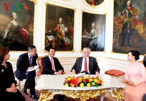 Gemeinsame Erklärung zwischen Vietnam und Tschechien - ảnh 1