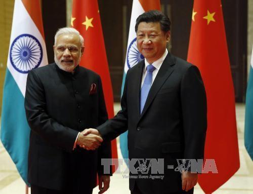 Staatspräsident Chinas trifft Premierminister Indiens - ảnh 1