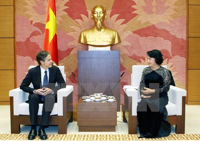 Aktivitäten des US-Vize-Außenministers in Vietnam - ảnh 1