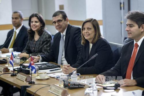 Neue Verhandlungsrunde über Normalisierung diplomatischer USA-Kuba-Beziehungen  - ảnh 1
