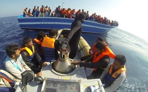 Italien rettet fast 150 Flüchtlinge - ảnh 1