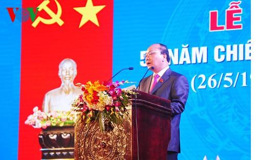 Vize-Premierminister Phuc nimmt am 50. Siegestag der Schlacht in Nui Thanh teil - ảnh 1