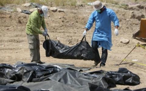 470 Leichen aus Massengräbern in Tikrit geborgen - ảnh 1
