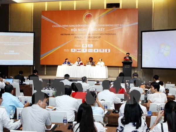 """Bewertung des Programms """"Anti-Korruptionsinitiative Vietnams""""  - ảnh 1"""