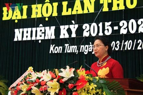 Parteisitzungen der Provinzen Bac Giang und Kon Tum - ảnh 1
