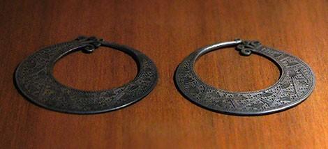 Ohrringe der Mong in Son La - ảnh 1