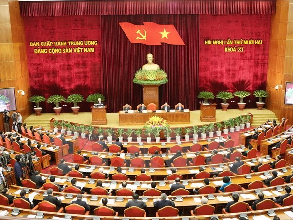 5. Sitzungstag des Zentralkomitees der KPV - ảnh 1