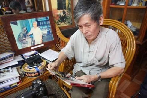 Bescheidenheit von Vo Nguyen Giap durch den Blick des Fotografen Tran Hong - ảnh 2
