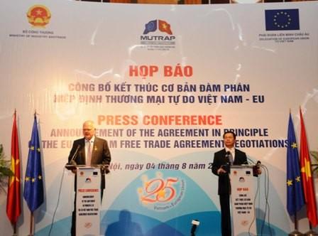 Vietnam wird zu einem internationalen Knotenpunkt für Welthandel - ảnh 1